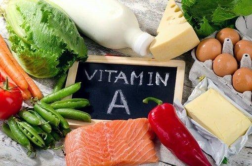vitamin a lebensmittel 123rf 61624667 Tatjana Baibakova